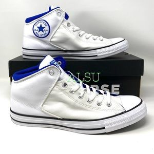 Converse Ctas High Street Leather White Men's Snea